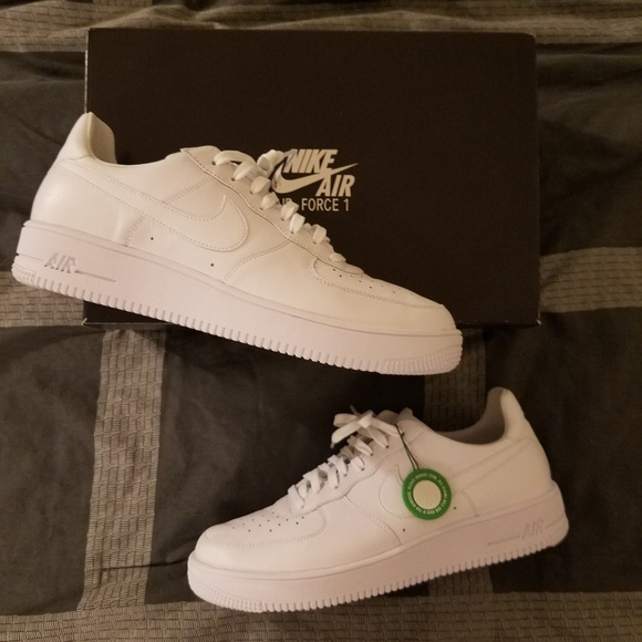 68dd4ab9 Nike Shoes | Air Force 1 Ultraforce Leather Triple White | Poshmark